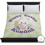 Easter Bunny Duvet Cover (Personalized)