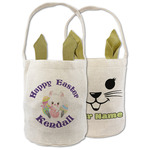 Easter Bunny Easter Basket (Personalized)