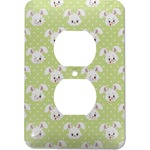 Easter Bunny Electric Outlet Plate (Personalized)