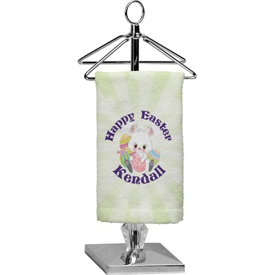Easter Bunny Finger Tip Towel - Full Print (Personalized)