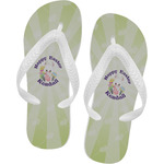 Easter Bunny Flip Flops (Personalized)
