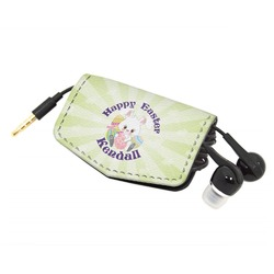 Easter Bunny Genuine Leather Cord Wrap (Personalized)