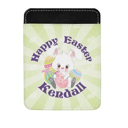 Easter Bunny Genuine Leather Money Clip (Personalized)