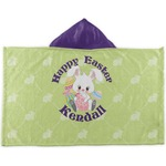 Easter Bunny Kids Hooded Towel (Personalized)