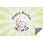 Easter Bunny Indoor / Outdoor Rug (Personalized)