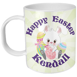 Easter Bunny Plastic Kids Mug (Personalized)