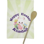 Easter Bunny Kitchen Towel - Full Print (Personalized)