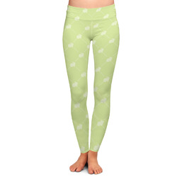 Easter Bunny Ladies Leggings (Personalized)