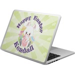 Easter Bunny Laptop Skin - Custom Sized (Personalized)