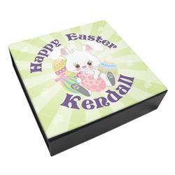 Easter Bunny Leatherette Keepsake Box - 3 Sizes (Personalized)
