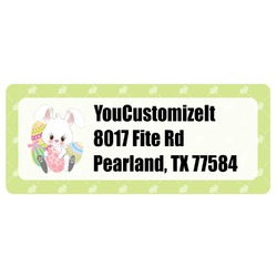 Easter Bunny Return Address Labels (Personalized)