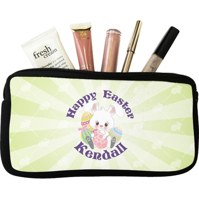 Easter Bunny Makeup / Cosmetic Bag - Small (Personalized)