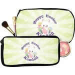 Easter Bunny Makeup / Cosmetic Bag (Personalized)