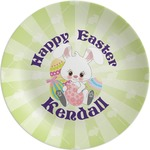 Easter Bunny Melamine Plate (Personalized)