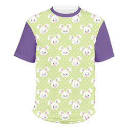 Easter Bunny Men's Crew T-Shirt (Personalized)