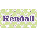 Easter Bunny Mini / Bicycle License Plate (Personalized)
