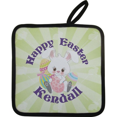 Easter Bunny Pot Holder (Personalized)