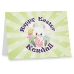 Easter Bunny Note cards (Personalized)