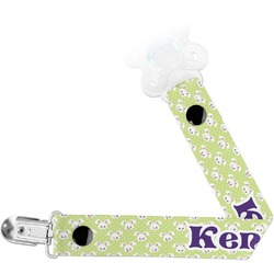 Easter Bunny Pacifier Clips (Personalized)