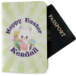 Easter Bunny Passport Holder - Fabric (Personalized)
