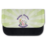 Easter Bunny Canvas Pencil Case w/ Name or Text