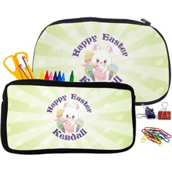 Easter Bunny Pencil / School Supplies Bag (Personalized)