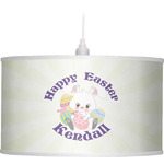 Easter Bunny Drum Pendant Lamp (Personalized)