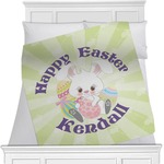 Easter Bunny Minky Blanket (Personalized)