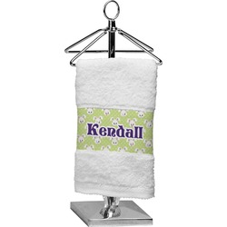 Easter Bunny Finger Tip Towel (Personalized)
