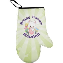 Easter Bunny Oven Mitt (Personalized)