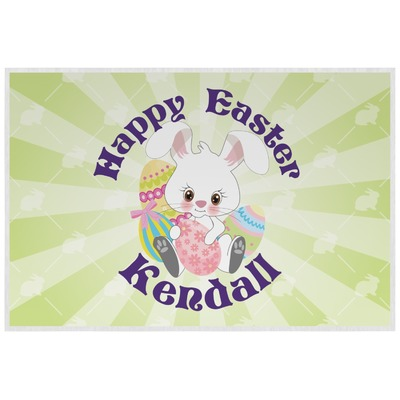 Easter Bunny Laminated Placemat w/ Name or Text