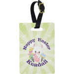 Easter Bunny Rectangular Luggage Tag (Personalized)