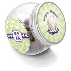 Easter Bunny Puppy Treat Jar (Personalized)