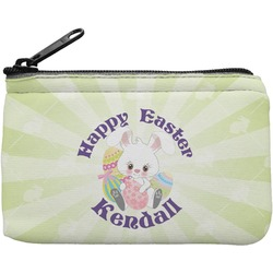 Easter Bunny Rectangular Coin Purse (Personalized)
