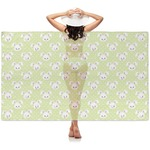 Easter Bunny Sheer Sarong (Personalized)