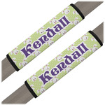 Easter Bunny Seat Belt Covers (Set of 2) (Personalized)