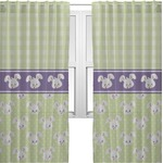 Easter Bunny Sheer Curtains (Personalized)