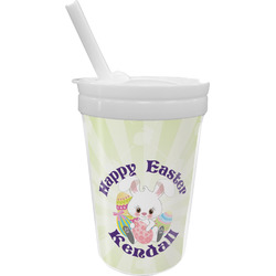 Easter Bunny Sippy Cup with Straw (Personalized)