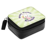 Easter Bunny Small Leatherette Travel Pill Case (Personalized)