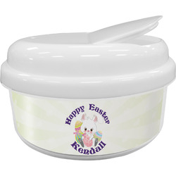 Easter Bunny Snack Container (Personalized)