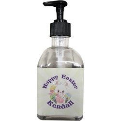 Easter Bunny Soap/Lotion Dispenser (Glass) (Personalized)
