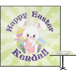 Easter Bunny Square Table Top (Personalized)