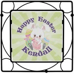 Easter Bunny Square Trivet (Personalized)