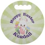 Easter Bunny Stadium Cushion (Round) (Personalized)