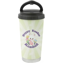 Easter Bunny Stainless Steel Travel Mug (Personalized)
