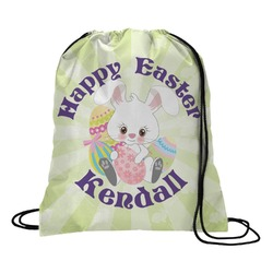 Easter Bunny Drawstring Backpack (Personalized)