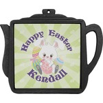 Easter Bunny Teapot Trivet (Personalized)