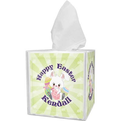 Easter Bunny Tissue Box Cover (Personalized)
