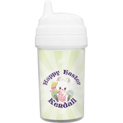 Easter Bunny Toddler Sippy Cup (Personalized)