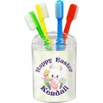 Easter Bunny Toothbrush Holder (Personalized)
